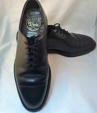 Vintage Dack Shoes Bespoke Mens Black Leather Extra Quality 9.5 D Canada VTG