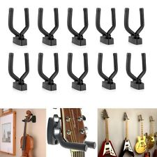 10pcs Guitar Hanger Hook Holder Wall Mount Display Instrument Anchor Stand Racks