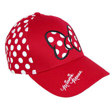 New Disney Women's Minnie Mouse Polka Dots Baseball Hat Cap Women