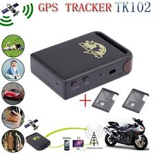 TK102 REALTIME GPS TRACKER CAR VEHICLE SPY PERSONAL TRACKING DEVICE+2 BATTERY