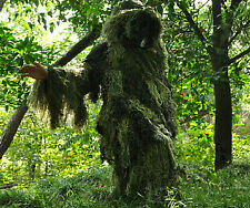 3D Grass Camouflage Suit Yowie Sniper Tactical Ghillie Suit f Paintball Hunting