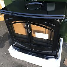 Dimplex Opti-Myst Grand Cast Iron Effect Electric Stove in Black BNIB  RRP £625