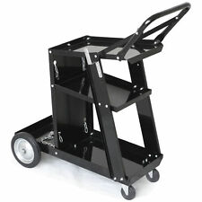 Universal Welding Cart MIG TIG MMA ARC Welder Storage for Tanks + Safely Chains