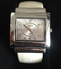 Vintage Terner Watch Cuff Bangle Women's Retro Rectangle Oversized
