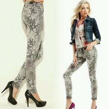 "nwt Guess Brittney Skinny ""Floral-Printed"" Jeans size 26"