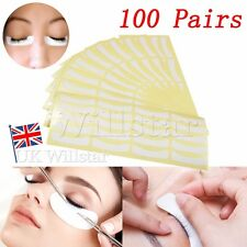 100 Pairs of Eyelash Lash Extension Tinting Under Eye Patches Lint Free Eye Pads