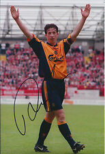 Robbie FOWLER Signed Autograph FA Cup Winner Photo AFTAL COA Liverpool Anfield