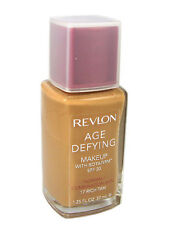 revlon age defying foundation normal/combination skin botafirm in 17 rich tan