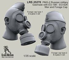 Live Resin 1/35 #35270 PMG-2 Russian Military Gasmask with EO-18K, EO-62K #2