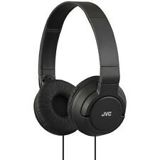 JVC HAS180 Lightweight Powerful Deep Bass Comfortable Over Ear Headphones Black