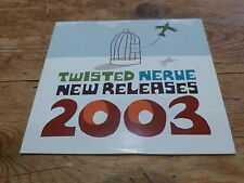TWISTED NERVE NEW RELAESE 2003 !!!!!!!!RARE CD PROMO!!!!!!!!!