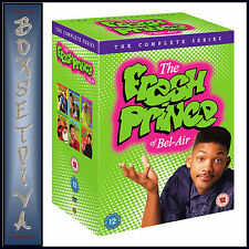 THE FRESH PRINCE OF BEL-AIR - COMPLETE SERIES  *BRAND NEW DVD BOXSET*