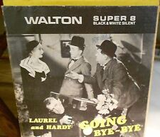 "LAUREL & HARDY,""GOING BYE-BYE"",WALTON Super 8 B&W Silent Film Home  Movie,5""Reel"