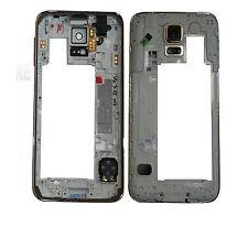 Gehäuse S5 SM-G900F Original Samsung Galaxy Rahmen Mittelrahmen Frame GOLD