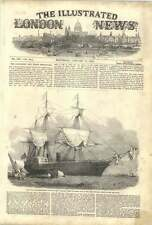 1852 Royal Mail Steamship Amazon Burnt Loss Of Life Engineers Employment