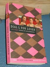 Dial L for Loser by Lisi Harrison(CLIQUE) *FREE SHIPPING*  0316115045