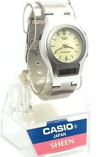 Casio Ladies Sheen Timepiece, Analog Digital Combination Watch, SHN-100