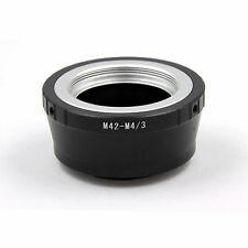 Adapter Ring For M42 Mount Lens to Micro M4/3 für Panasonic G3 GH2 GF3 GF7 DC153