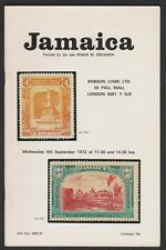 JAMAICA, the Edwin M. Erickson collection, 1972 auction catalogue