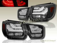 2013-2014 CHEVROLET MALIBU LS LT TAIL LIGHTS NEW BMW STYLE LED BAR BLACK