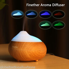LED Essential Oil Aroma Diffuser Therapy Ultrasonic Humidifier Air Mist Purifier