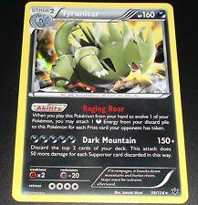 Tyranitar 56/124 XY Fates Collide NEAR MINT Holo Rare Pokemon Card