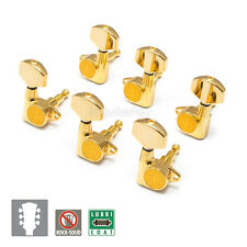NEW Gotoh SG301-01 Set L3+R3 LARGE Buttons Tuners Machine Head - 3x3 - GOLD