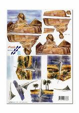 Toller Novelle 3D Motivbogen Etappenbogen 3D Bild Pyramiden (200)