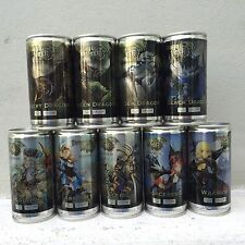 REDBULL EXTRA Dragon Nest Energy drink complete set 9 cans Online Game Red Bull