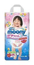Giapponese Pannolini Mutandine Moony PL Ragazza (9-14kg).