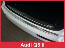 2018 Audi Q5 - Stainless Steel Rear Bumper Protector Guard