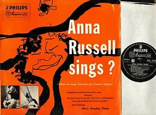 ANNA RUSSELL sings BBL 7008 uk philips minigroove 1953 LP PS EX-/EX-