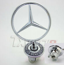 For Mercedes Benz Hood Emblem Badge Front Logo For W210 W124 E240 E260 E280 S32