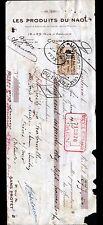 """COURBEVOIE (92) USINE de PRODUITS d'ENTRETIEN & CIRAGES """"NAOL"""" en 1924"""
