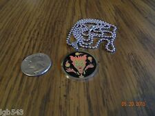 """New-ICP """"The Amazing Jeckel Brothers"""" stainless steel pendant/30"""" ball chain."""