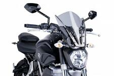 PUIG Naked Touring Windscreen - Smoke 7016H YAMAHA FZ-07 2015 30-1506
