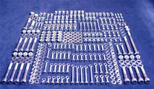 HONDA CR250 345 PIECE POLISHED STAINLESS STEEL BOLT KIT 2000-2001 CR 250