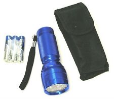 21 LED Flashlight with Pouch and Batteries   ( FL30721BL )