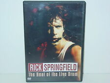 """*** DVD-Rick Springfield """"the Beat of the live Drum"""" -2008 Lightyear Entertainm. ***"""