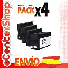 4 Cartuchos de Tinta NON-OEM 950/951XL - HP Officejet Pro 8600