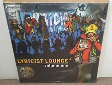 V/A LYRICIST LOUNGE VOL 1 4x LP OG US 1998 HIP HOP VINYL RAWKUS SEALED! OPEN MIC