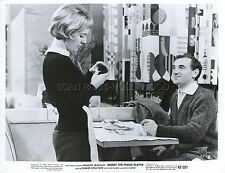 CHARLES AZNAVOUR TIREZ SUR LE PIANISTE TRUFFAUT 1960 9 PHOTOS ORIGINAL LOT