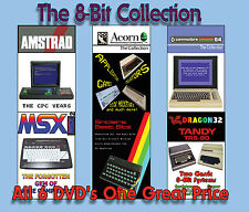 8-Bit Collection 6 disc set, BBC, Commodore, Sinclair, Amstrad, Dragon and MSX