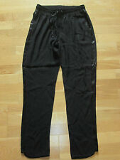 next black crop elasticated trousers size 10 long brand new with tags