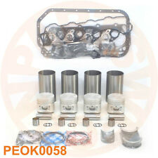 NEW ENGINE REBUILD KIT MITSUBISHI 4D56 4D56T SOHC 8-VALVES PICKUP TRUCK AUTO CAR