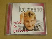 CD / LUC STEENO - NIET TE GELOVEN