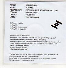 (EP344) Harleighblu, Play Me - 2013 DJ CD
