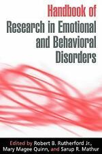Handbook of Research in Emotional and Behavioral Disorders-ExLibrary