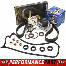 96-00 Honda Civic 1.6L D16Y7 D16Y8 Timing Belt Kit Water Pump Valve Cover Gasket