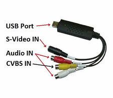 Scheda acquisizione video USB PC x videoregistrazione.DVD,VHS,videosorveglianza!